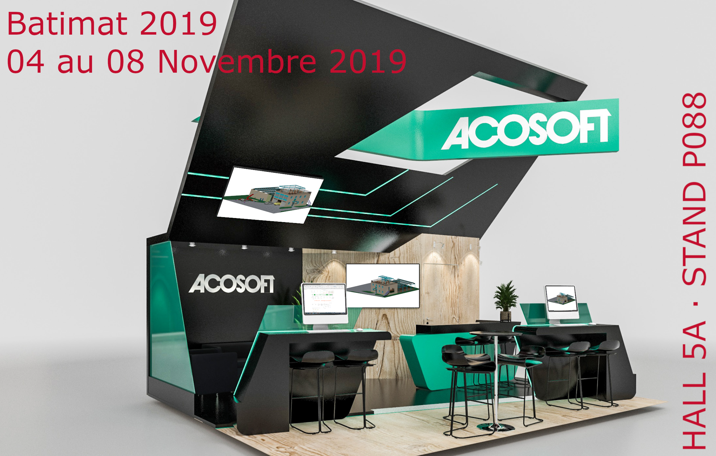 BATIMAT 2019 Stand ACOSOFT FLYER